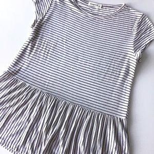 Black and White Stripe T Shirt